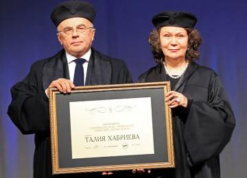 Талия Хабриева: биография, личная жизнь, сколько лет, должность
