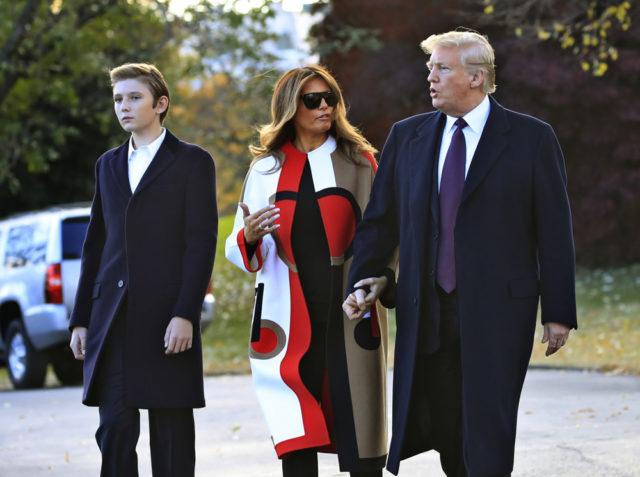 Barron Trump (Бэррон Трамп): биография, дата рождения, возраст, фото
